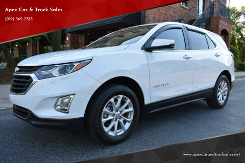 2019 Chevrolet Equinox for sale at Apex Car & Truck Sales in Apex NC