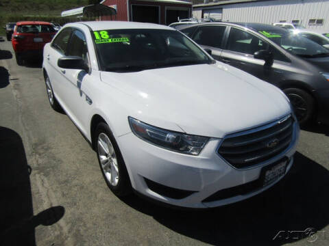 2018 Ford Taurus for sale at Guy Strohmeiers Auto Center in Lakeport CA