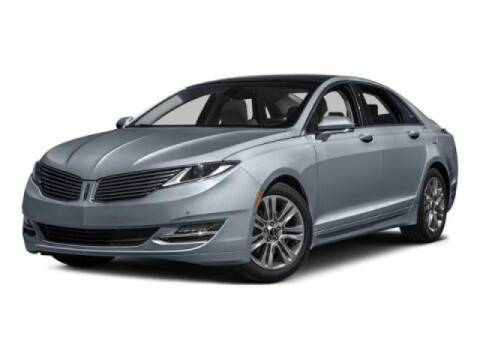2016 Lincoln MKZ for sale at JEFF HAAS MAZDA in Houston TX