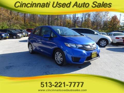2015 Honda Fit for sale at Cincinnati Used Auto Sales in Cincinnati OH