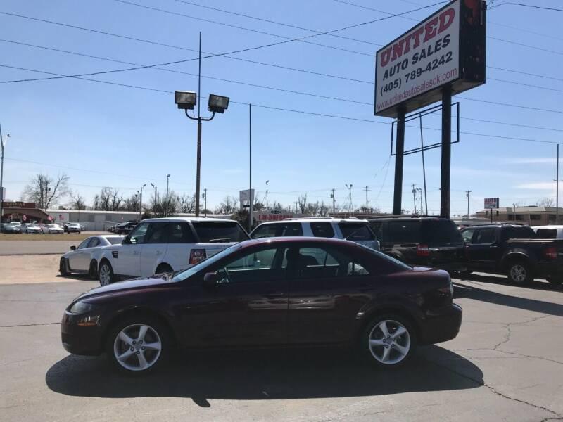 2008 Mazda MAZDA6 for sale at United Auto Sales in Oklahoma City OK