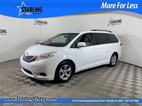 2014 Toyota Sienna for sale at Pedro @ Starling Chevrolet in Orlando FL