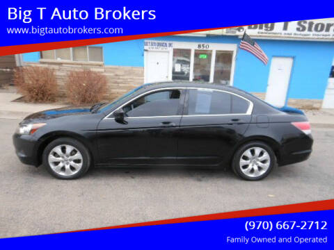 2009 Honda Accord for sale at Big T Auto Brokers in Loveland CO