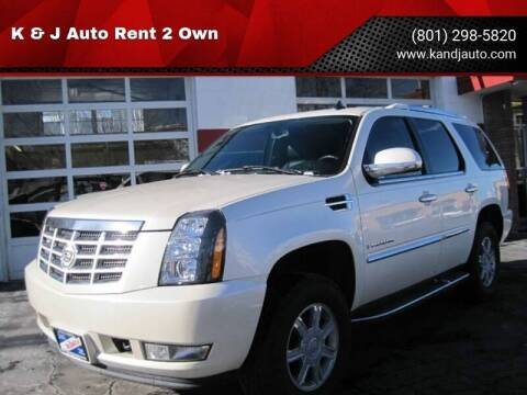 2008 Cadillac Escalade for sale at K & J Auto Rent 2 Own in Bountiful UT