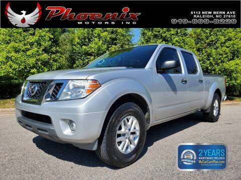 2016 Nissan Frontier for sale at Phoenix Motors Inc in Raleigh NC