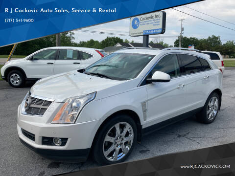 2010 Cadillac SRX for sale at R J Cackovic Auto Sales, Service & Rental in Harrisburg PA