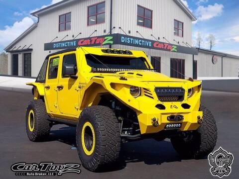 2021 Jeep Wrangler Unlimited for sale at Distinctive Car Toyz in Egg Harbor Township NJ