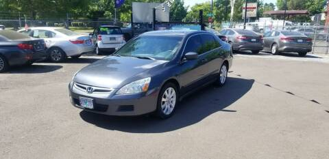 2007 Honda Accord for sale at Universal Auto Sales in Salem OR