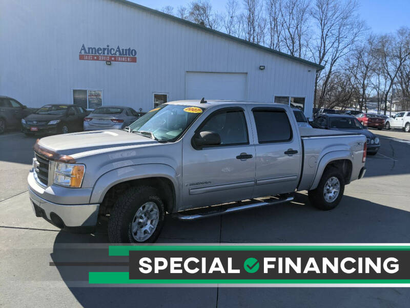 2007 GMC Sierra 1500 for sale at AmericAuto in Des Moines IA