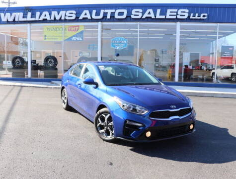 2020 Kia Forte for sale at Williams Auto Sales, LLC in Cookeville TN