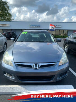 2007 Honda Accord for sale at K&N Auto Sales in Tampa FL