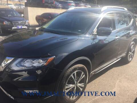 2018 Nissan Rogue for sale at J & M Automotive in Naugatuck CT