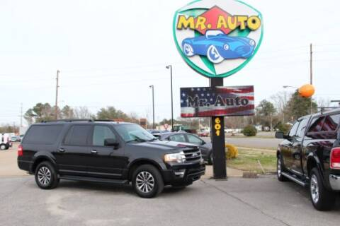 2015 Ford Expedition EL for sale at MR AUTO in Elizabeth City NC
