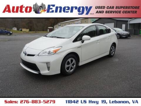 2015 Toyota Prius for sale at Auto Energy in Lebanon VA