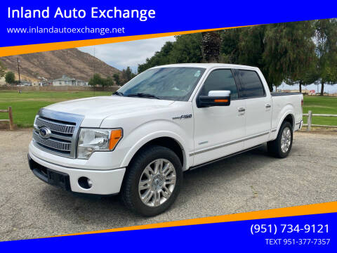 2012 Ford F-150 for sale at Inland Auto Exchange in Norco CA