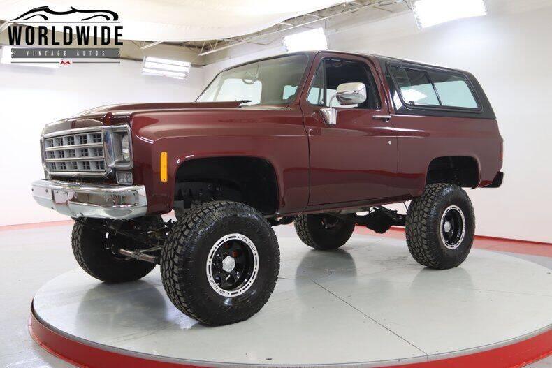 1977 Chevrolet Blazer for sale in Denver, CO