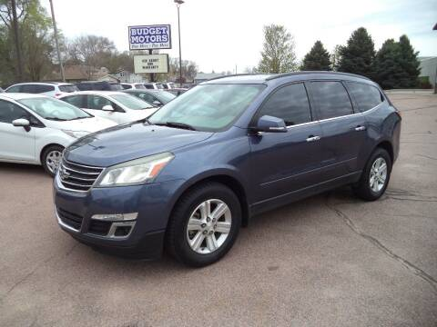 2014 Chevrolet Traverse for sale at Budget Motors - Budget Acceptance in Sioux City IA