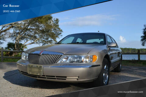 2002 Lincoln Continental for sale at Car Bazaar in Pensacola FL
