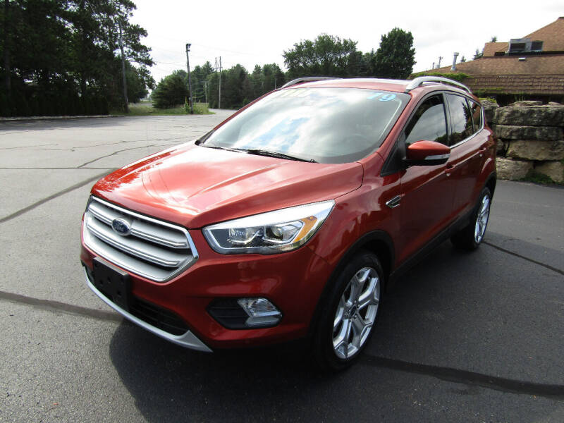 2019 Ford Escape for sale at Mike Federwitz Autosports, Inc. in Wisconsin Rapids WI