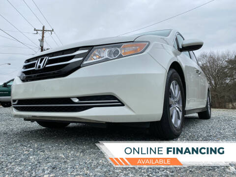 2016 Honda Odyssey for sale at Prime One Inc in Walkertown NC