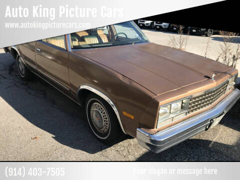 1982 Chevrolet Malibu for sale at Auto King Picture Cars in Westchester County NY