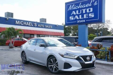 2020 Nissan Maxima for sale at Michael's Auto Sales Corp in Hollywood FL