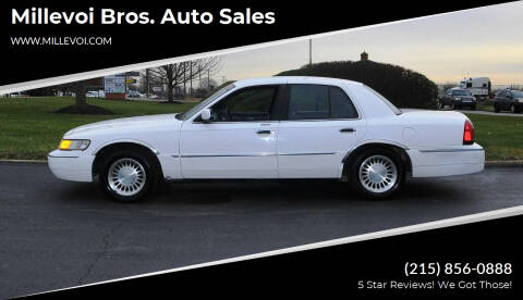 2000 Mercury Grand Marquis for sale at Millevoi Bros. Auto Sales in Philadelphia PA