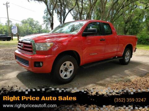 2010 Toyota Tundra for sale at Right Price Auto Sales-Gainesville in Gainesville FL