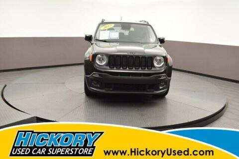 2017 Jeep Renegade for sale at Hickory Used Car Superstore in Hickory NC