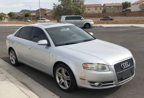 2007 Audi A4 for sale at GEM Motorcars in Henderson NV
