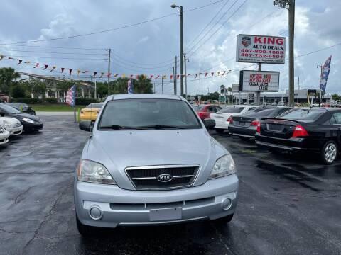 2006 Kia Sorento for sale at King Auto Deals in Longwood FL