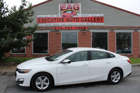 2020 Chevrolet Malibu for sale at EXECUTIVE AUTO GALLERY INC in Walnutport PA