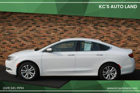 2015 Chrysler 200 for sale at KC'S Auto Land in Kalamazoo MI