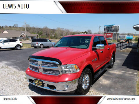 2018 RAM Ram Pickup 1500 for sale at LEWIS AUTO in Mountain Home AR