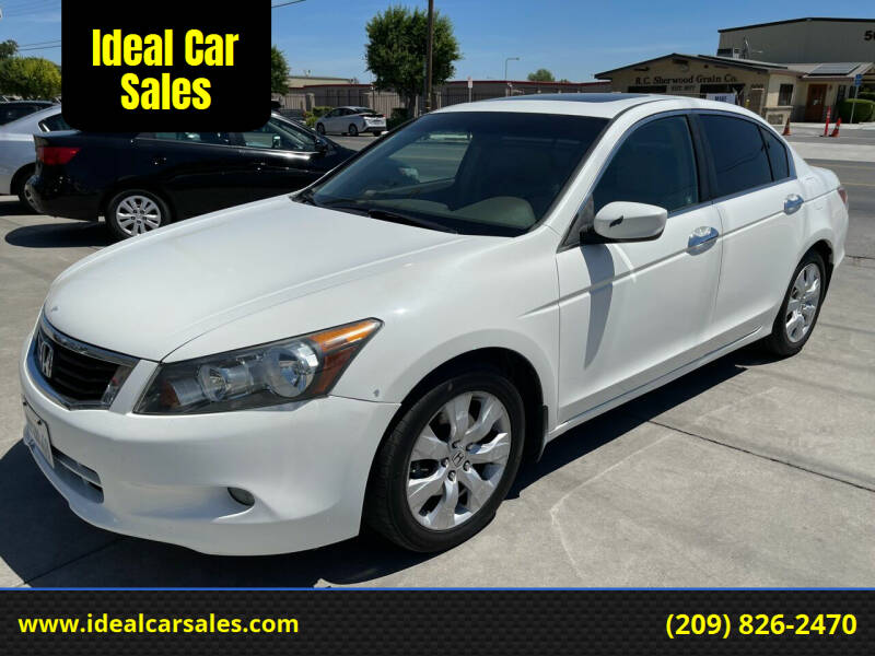 2008 Honda Accord for sale at Ideal Car Sales in Los Banos CA