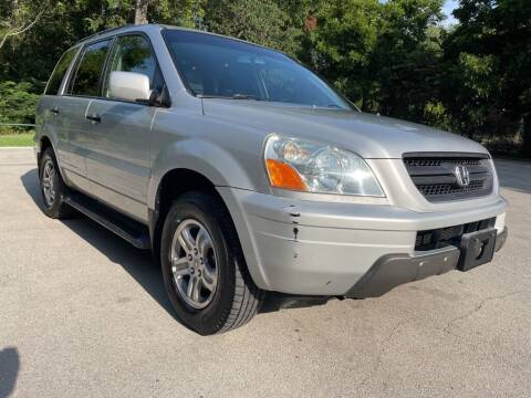 2003 Honda Pilot for sale at Thornhill Motor Company in Lake Worth TX
