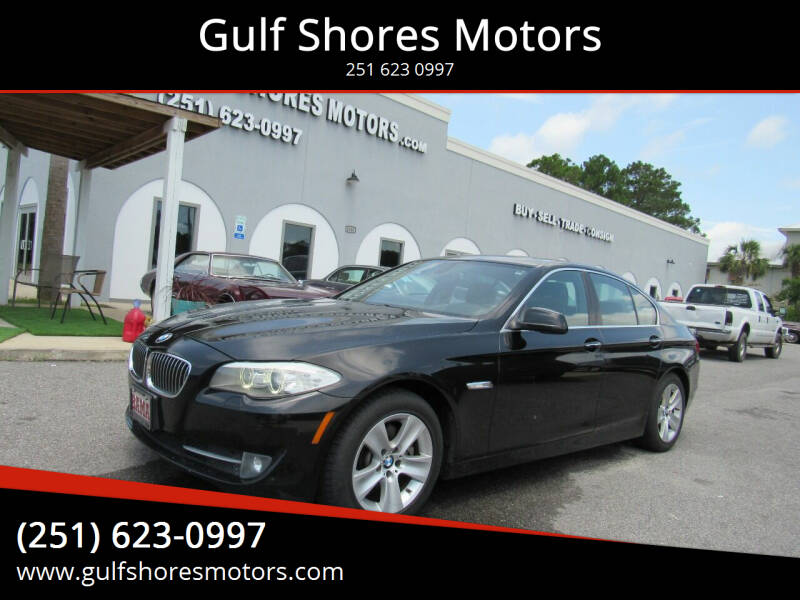 2012 BMW 5 Series for sale at Gulf Shores Motors in Gulf Shores AL