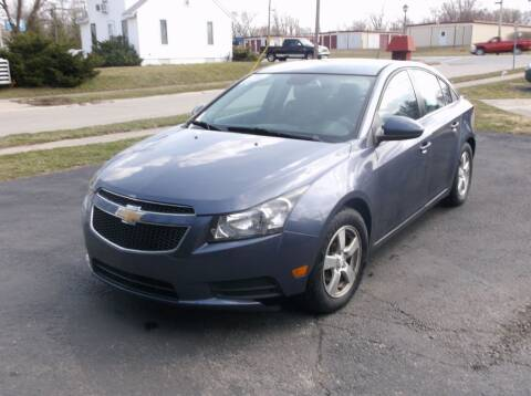 2014 Chevrolet Cruze for sale at Straight Line Motors LLC in Fort Wayne IN
