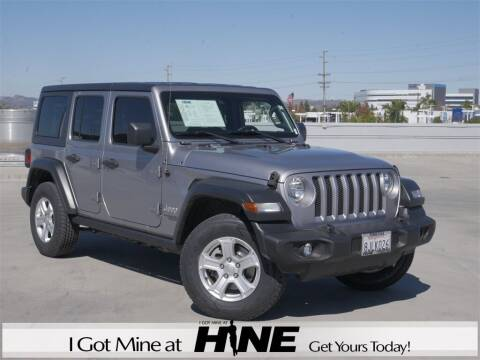 2018 Jeep Wrangler Unlimited for sale at John Hine Temecula in Temecula CA