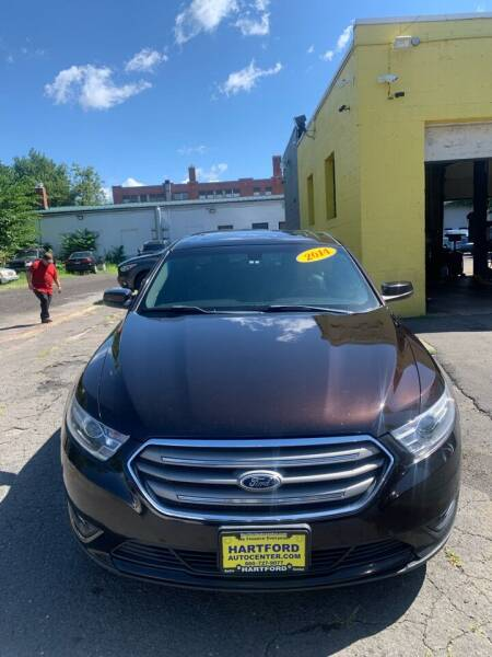 2014 Ford Taurus for sale at Hartford Auto Center in Hartford CT