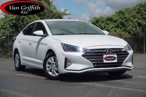 2019 Hyundai Elantra for sale at Van Griffith Kia Granbury in Granbury TX