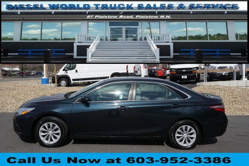 2015 Toyota Camry for sale at Diesel World Truck Sales in Plaistow NH