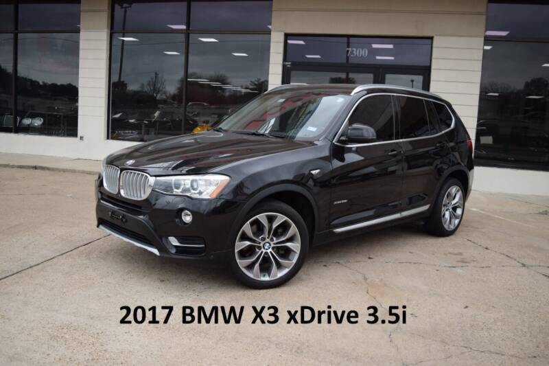 2017 BMW X3 for sale at Icon Exotics in Houston TX