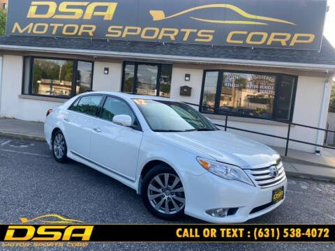 2012 Toyota Avalon for sale at DSA Motor Sports Corp in Commack NY