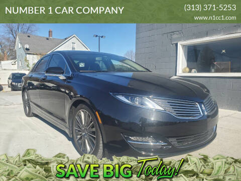 2015 Lincoln MKZ for sale at NUMBER 1 CAR COMPANY in Detroit MI