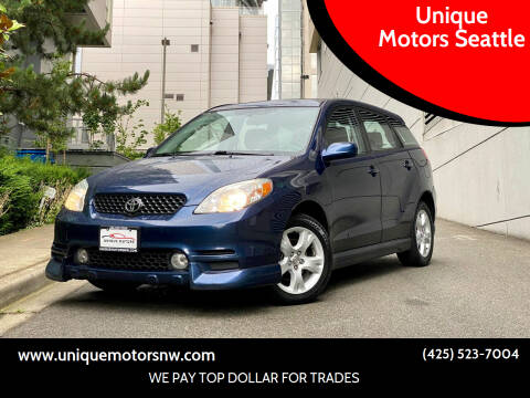 2004 Toyota Matrix for sale at Unique Motors Seattle in Bellevue WA