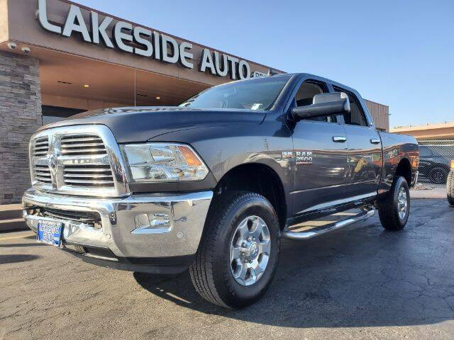 2017 RAM Ram Pickup 2500 for sale at Lakeside Auto Brokers in Colorado Springs CO