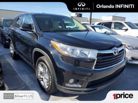 2016 Toyota Highlander for sale at Orlando Infiniti in Orlando FL