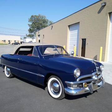 1950 Ford Deluxe for sale at Classic Car Deals in Cadillac MI