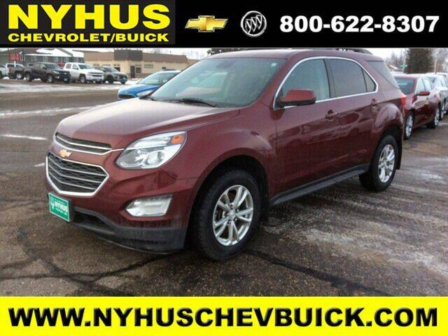 2017 Chevrolet Equinox for sale at Nyhus Chevrolet Buick in Staples MN